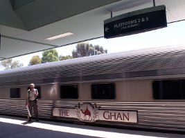 The Ghan in Adelaide