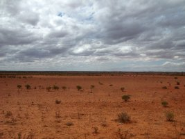 The Ghan: View from the train - Udsigten fra toget