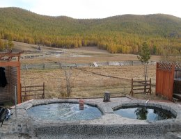 Tsenkher Hot Springs